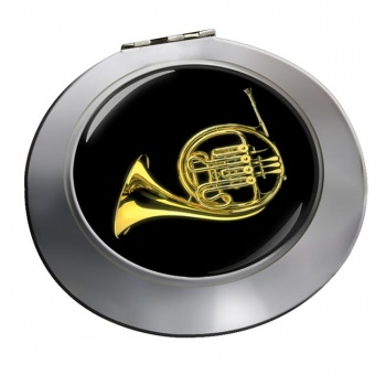 French Horn Chrome Mirror