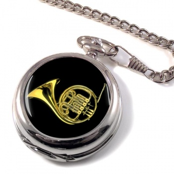 French Horn Pocket Watch