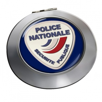 Police nationale Chrome Mirror