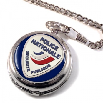 Police nationale Pocket Watch