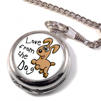 Love from the dog Pocket Watch