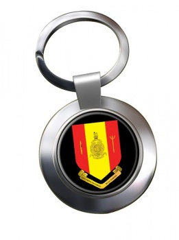 Fleet Protection Group Royal Marines Chrome Key Ring