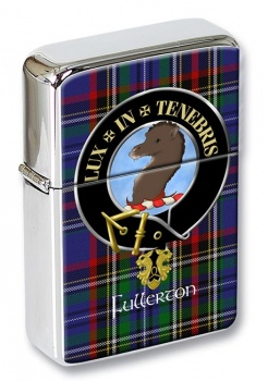 Fullerton Scottish Clan Flip Top Lighter