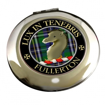 Fullerton Scottish Clan Chrome Mirror