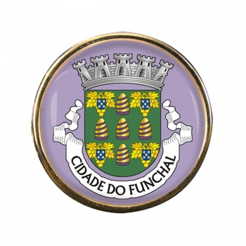 Funchal (Portugal) Round Pin Badge