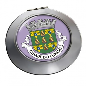 Funchal (Portugal) Round Mirror