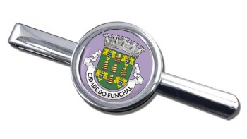 Funchal (Portugal) Round Tie Clip