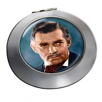 Clark Gable Chrome Mirror