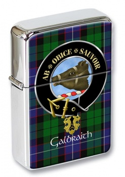 Galbraith Scottish Clan Flip Top Lighter