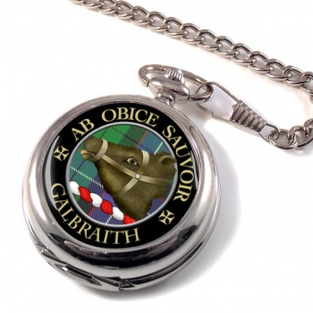Galbraith Scottish Clan Pocket Watch