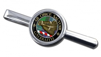 Galbraith Scottish Clan Round Tie Clip