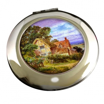 Long Crendon by Gallon Round Mirror