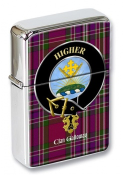 Galloway Scottish Clan Flip Top Lighter