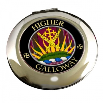 Galloway Scottish Clan Chrome Mirror