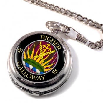 Galloway Scottish Clan Pocket Watch