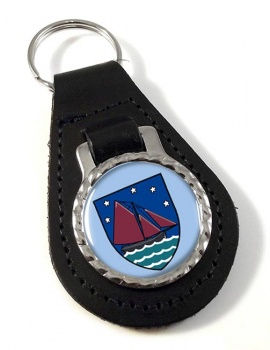 County Galway (Ireland) Leather Key Fob