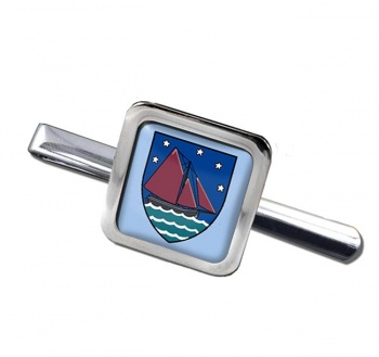 County Galway (Ireland) Square Tie Clip