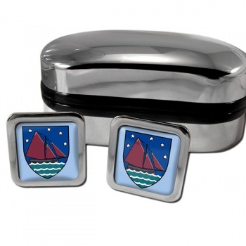 County Galway Ireland Square Cufflinks