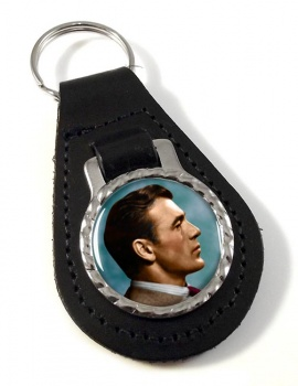 Gary Cooper Leather Key Fob