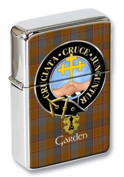 Garden Scottish Clan Flip Top Lighter