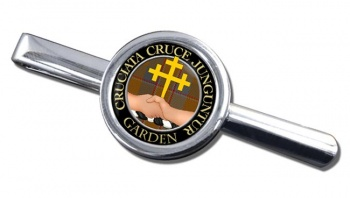 Garden Scottish Clan Round Tie Clip