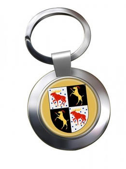 Gavleborg (Sweden) Metal Key Ring