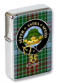 Gayre Scottish Clan Flip Top Lighter