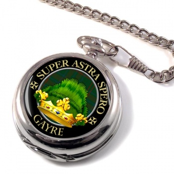 Gayre Scottish Clan Pocket Watch