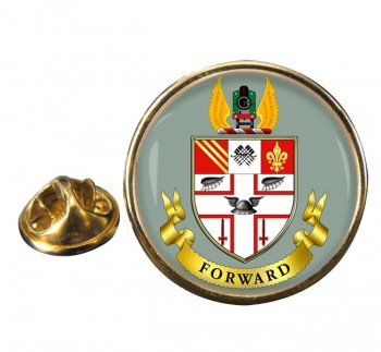 Great Central Railway Round Lapel
