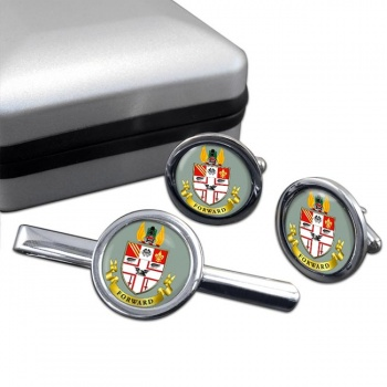 Great Central Railway Cufflink and Tie Clip Set
