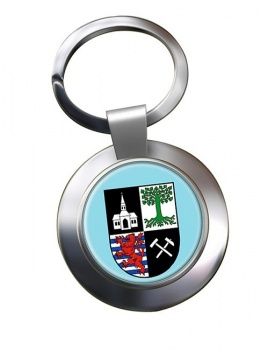 Gelsenkirchen (Germany) Metal Key Ring