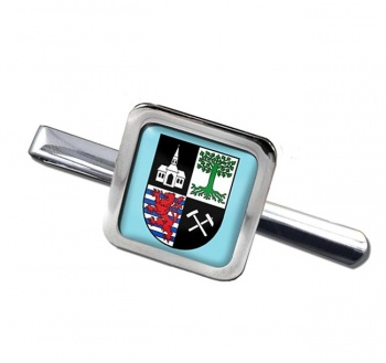 Gelsenkirchen (Germany) Square Tie Clip