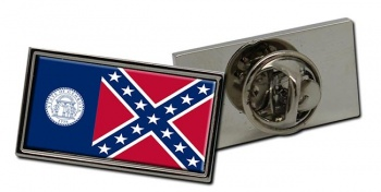 Georgia 1956–2001  Flag Pin Badge