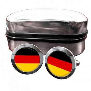Deutschland Germany Flag Cufflinks