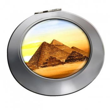 Pyramids of Giza Chrome Mirror