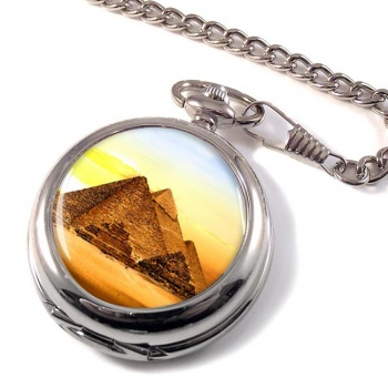 Pyramids of Giza Pocket Watch