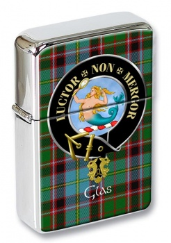 Glas Scottish Clan Flip Top Lighter