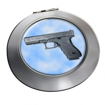 Glock 21 Pistol Chrome Mirror