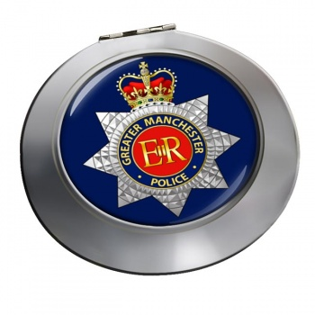Greater Manchester Police Chrome Mirror