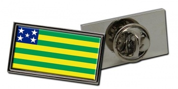 Goias (Brasil) Flag Pin Badge