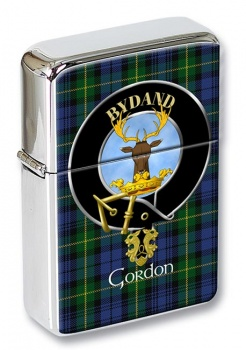 Gordon Scottish Clan Flip Top Lighter