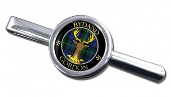 Gordon Scottish Clan Round Tie Clip