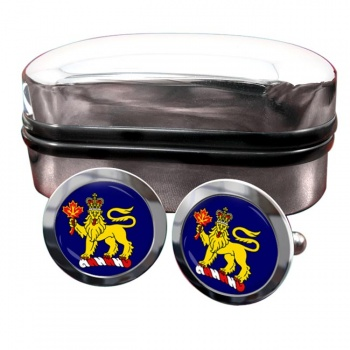 Governor General of Canada Round Cufflinks