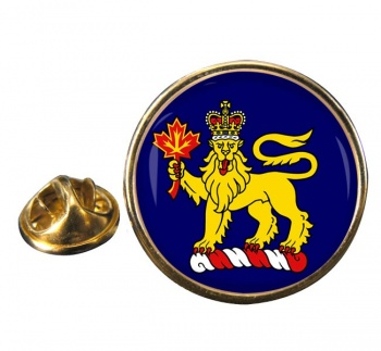 Governor General of Canada Round Pin Badge