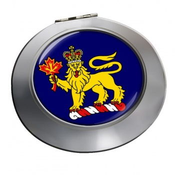 Governor General of Canada Chrome Mirror