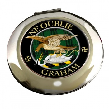 Graham Scottish Clan Chrome Mirror