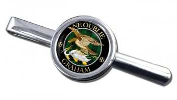 Graham Scottish Clan Round Tie Clip