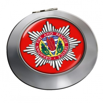 Grampian Fire and Rescue Chrome Mirror