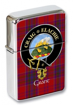 Grant Gaelic Scottish Clan Flip Top Lighter