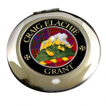 Grant Gaelic Scottish Clan Chrome Mirror